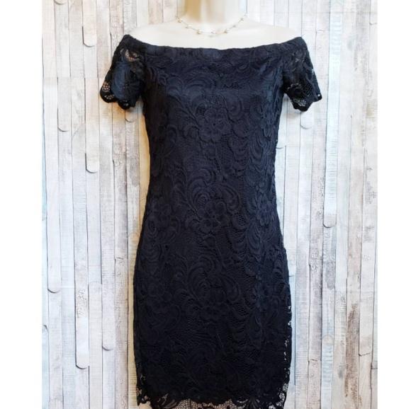519faba7e30 Brand new Ambiance black lace dress NWT